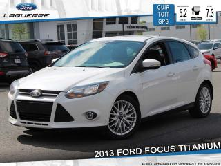 Used 2013 Ford Focus TITANIUM CUIR TOIT for sale in Victoriaville, QC