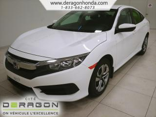 Used 2017 Honda Civic Lx+gar.+apple for sale in Cowansville, QC