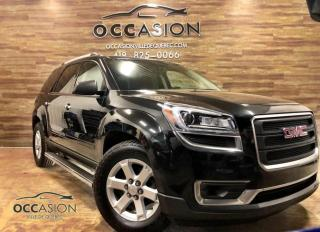 Used 2015 GMC Acadia SLE2 AWD 7 PASSAGERS for sale in Ste-Brigitte-de-Laval, QC