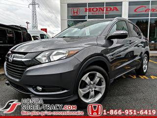 Used 2016 Honda HR-V EX-L 4 portes 4RM CVT avec GPS for sale in Sorel-Tracy, QC