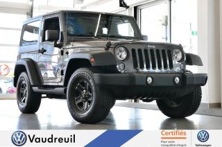 Used 2014 Jeep Wrangler Sport * A/C * 8 ROUES + 2 TOITS for sale in Vaudreuil-Dorion, QC