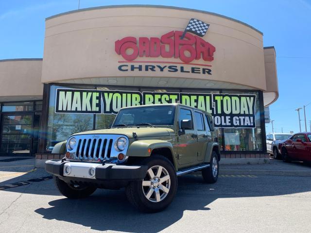 2013 Jeep Wrangler Sahara ULTD+NAV+LOADED+SUPER CLEAN!