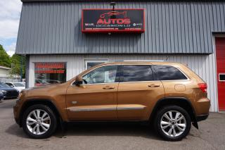 Used 2011 Jeep Grand Cherokee Laredo 70th 4x4 Cuir for sale in Lévis, QC