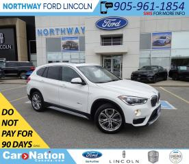 Used 2017 BMW X1 xDrive28i | AWD | PWR HTD LEATHER | PANO ROOF | for sale in Brantford, ON
