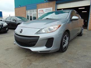 Used 2012 Mazda MAZDA3 Berline 4 portes, boîte automatique, GX for sale in St-Eustache, QC
