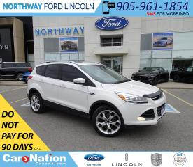 Used 2016 Ford Escape Titanium | AWD | NAV | HTD LEATHER | PANO ROOF | for sale in Brantford, ON