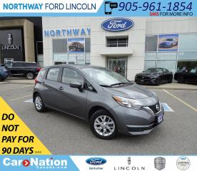 Used 2017 Nissan Versa Note SV | HTD SEATS | BACK UP CAM | USB/AUX | for sale in Brantford, ON