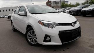 Used 2016 Toyota Corolla SPORT SEDAN 57 KM WARRANTY S for sale in Toronto, ON