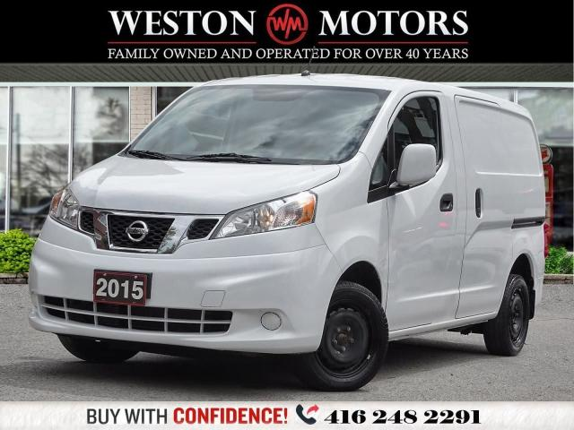 2015 Nissan NV200 WOW ONLY 39KMS!!*WOOD SHELVING*READY FOR WORK!!