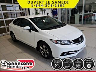 Used 2014 Honda Civic LX ***GARANTIE PROLONGÉE***TRES BAS MILL for sale in Donnacona, QC