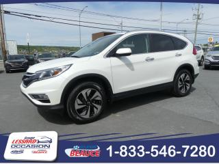Used 2015 Honda CR-V TOURING AWD CUIR / TOIT OUVRANT for sale in St-Georges, QC