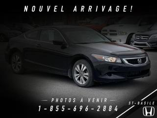 Used 2010 Honda Accord EX COUPE + TOIT + CAMERA + WOW !! for sale in St-Basile-le-Grand, QC