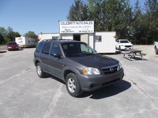 Used 2005 Mazda Tribute GX for sale in Elmvale, ON