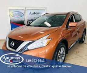 Used 2016 Nissan Murano SV for sale in Rouyn-Noranda, QC