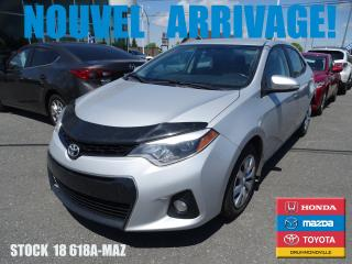 Used 2014 Toyota Corolla S|cuir|siègchauff|ca for sale in Drummondville, QC