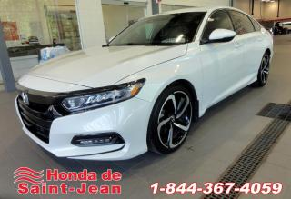 Used 2018 Honda Accord Sport CVT Toit Camera Mags for sale in St-Jean-Sur-Richelieu, QC