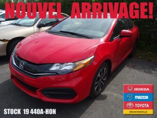 Used 2015 Honda Civic Ex+siègchauff+toit+b for sale in Drummondville, QC