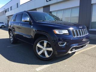 Used 2014 Jeep Grand Cherokee OVERLAND GARANTIE PLAN OR for sale in Ste-Marie, QC