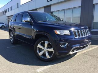 Used 2014 Jeep Grand Cherokee Overland Plan Or for sale in Ste-Marie, QC