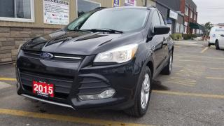 Used 2015 Ford Escape SE-4WD-LEATHER-SUNROOF-REVERSE CAMERA for sale in Tilbury, ON