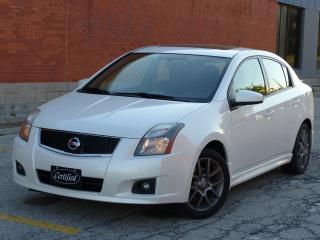 Used 2010 Nissan Sentra SE-R, NAVIGATION,REAR-CAM,FULLY LOADED,NO-ACCIDENT for sale in Mississauga, ON