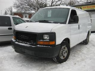 Used 2007 GMC Savana 2500 Cargo Van 4.8L 8cyl AC for sale in Ottawa, ON
