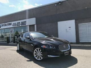 Used 2014 Jaguar XF AWD-NAVI-LEATHER-SNROOF for sale in Toronto, ON