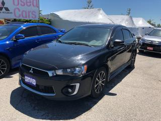 Used 2016 Mitsubishi Lancer SE LIMITED EDITION for sale in Barrie, ON