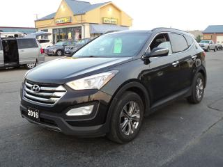 Used 2016 Hyundai Santa Fe Sport Luxury 2.4L HeatedLeather DualMoonRoof BackUpCam for sale in Brantford, ON