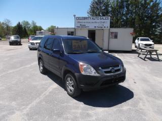 Used 2003 Honda CR-V AWD EX for sale in Elmvale, ON