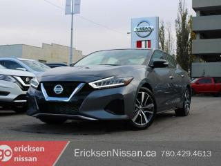 New 2019 Nissan Maxima Demo SL l Leather l Dual SunRoof l Heated Seats | Navi for sale in Edmonton, AB