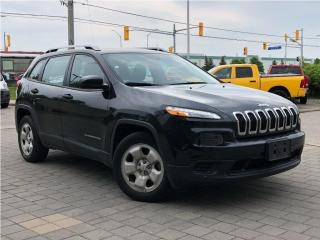 Used 2015 Jeep Cherokee Sport**FWD**Back UP Camera**V6**Bluetooth** for sale in Mississauga, ON