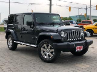 Used 2016 Jeep Wrangler Unlimited Sahara**4X4**Leather**NAV**Alpine for sale in Mississauga, ON