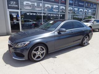 Used 2016 Mercedes-Benz C-Class 4-matic AMG PKG.NAVIGATION PANORAMIC ROOF for sale in Etobicoke, ON