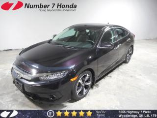 Used 2017 Honda Civic Touring| Loaded, Leather, Navi! for sale in Woodbridge, ON