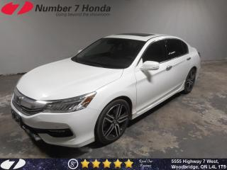 Used 2017 Honda Accord Touring V6| Loaded, Leather, Navi! for sale in Woodbridge, ON