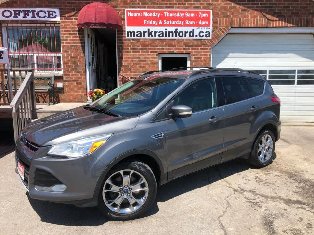 2013 Ford Escape SEL AWD Leather Pano Sunroof Navigation Bluetooth