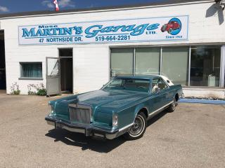 Used 1979 Lincoln Continental Mark V  for sale in St. Jacobs, ON
