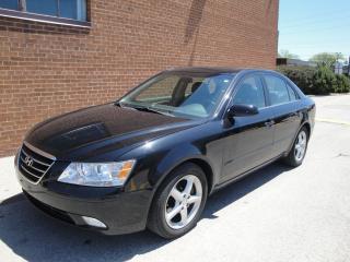 Used 2010 Hyundai Sonata V6, Leather, Sunroof for sale in Oakville, ON