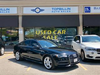 Used 2016 Audi A6 2.0T Technik S Line, Fully Loaded for sale in Vaughan, ON