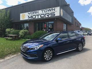 Used 2017 Hyundai Sonata 2.4L Sport Tech/Nav/BackCam/HeatedSeats for sale in North York, ON