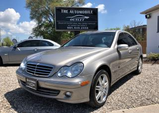 Used 2007 Mercedes-Benz C280 3.0L AVANTGARDE LOW KM NO ACCIDENT SUNROOF LEATHER for sale in Mississauga, ON