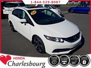Used 2015 Honda Civic SI 4 PORTES **INTÉRIEUR NOIR/ROUGE** for sale in Charlesbourg, QC