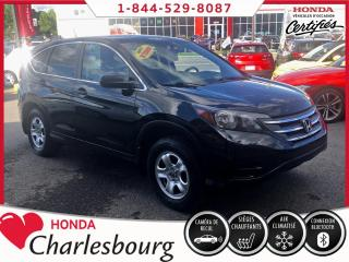 Used 2014 Honda CR-V LX 2RM **UN PROPRIÉTAIRE** for sale in Charlesbourg, QC