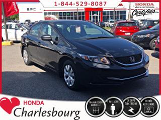 Used 2015 Honda Civic DX **UN PROPRIÉTAIRE** for sale in Charlesbourg, QC
