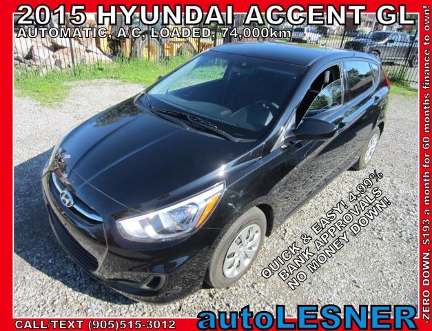 2015 Hyundai Accent -SOLD!