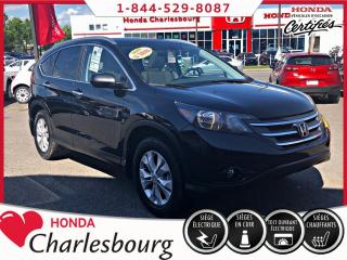 Used 2014 Honda CR-V TOURING 4WD **79 553 KM** for sale in Charlesbourg, QC