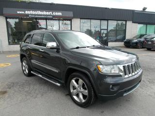 Used 2011 Jeep Grand Cherokee OVERLAND 4X4 5.7 HEMI for sale in St-Hubert, QC