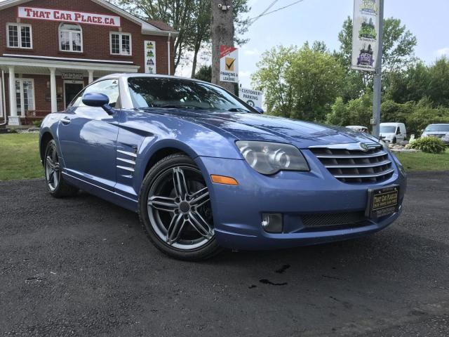 2007 Chrysler Crossfire Limited -Htd Lthr Seats-Mercedes Powertrain-Pwr Windows/Locks/Mirrors-Alloys