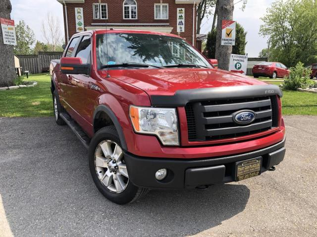 2010 Ford F-150 FX4 SuperCrew 4WD-Htd Lthr Seats-Sunroof-Pwr Pedals-Remote Start